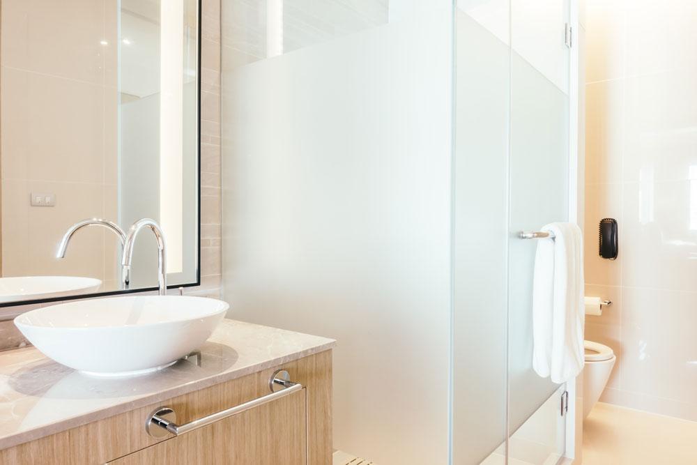 Wasser und Kosten sparen im Bad