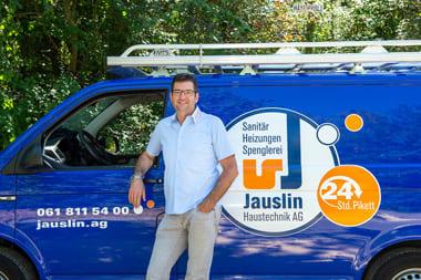 Bernhard Jauslin, Geschäftsführer