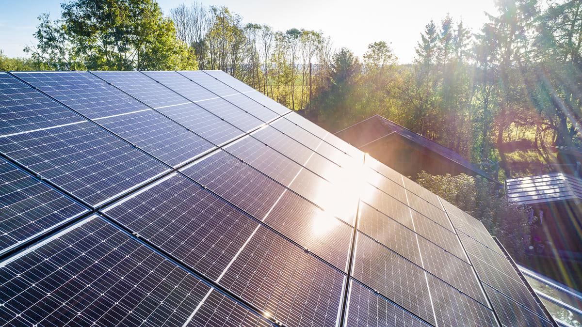 Solaranlage: Die meisten Dächer eignen sich für eine Photovoltaikanlage.