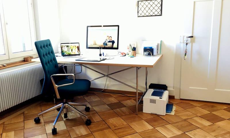 Homeoffice: Bürozimmer