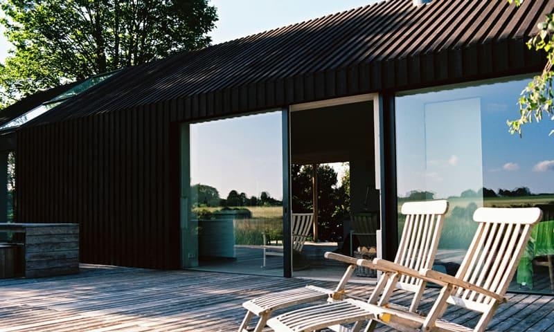Fassade sanieren:Haus mit Holzfassade