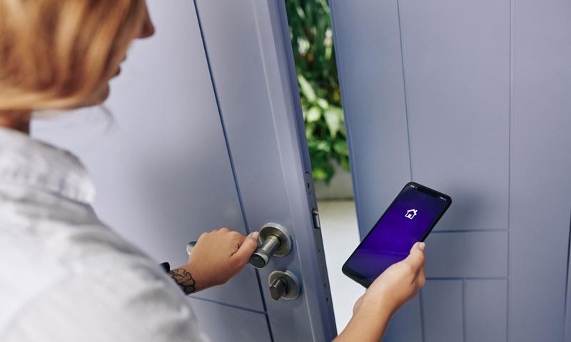 Einbruchschutz: App für Alarmanlage