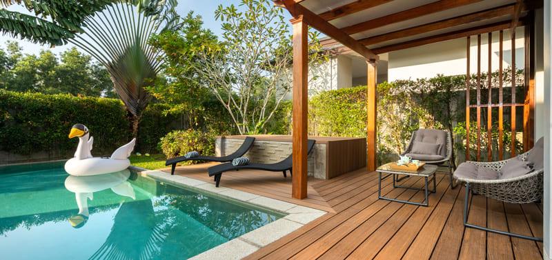 Bodenbelag für Terrasse
