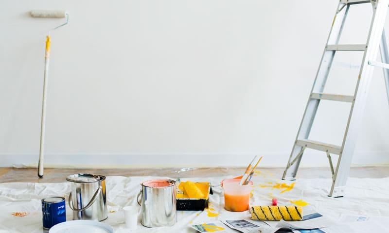 Hausverkauf: Wand malen lohnt sich nicht