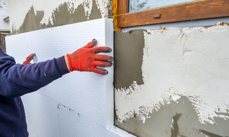 Energieeffizienz:Gedämmte Fassade