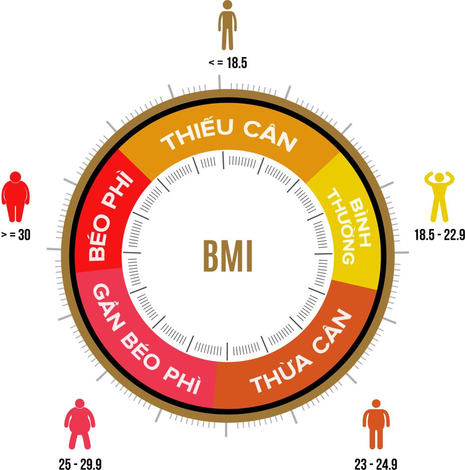 Cách đo và tính chỉ số khối cơ thể BMI chính xác và chuẩn nhất
