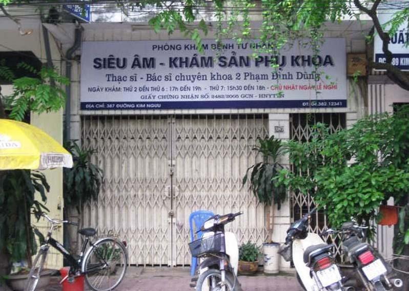 Phòng khám 387 Kim Ngưu – BS Phạm Đình Dũng