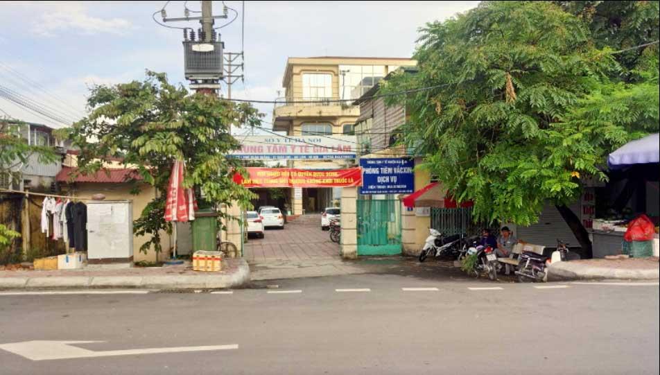 Trung tâm Y tế Huyện Gia Lâm