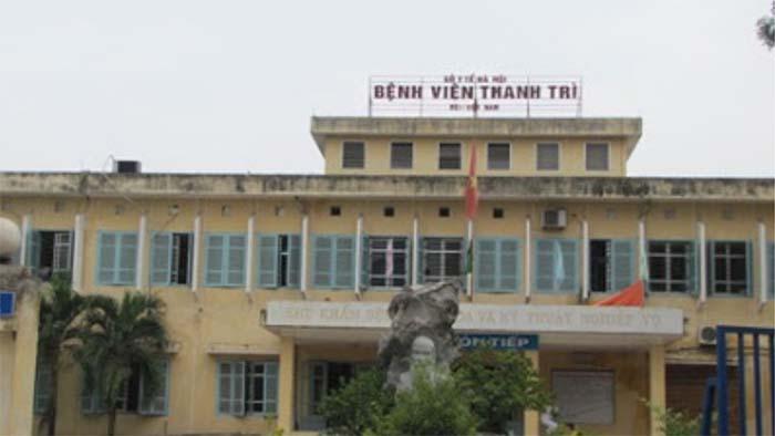 Trung tâm y tế huyện thanh trì