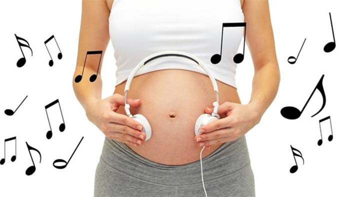 Chọn nhạc cho thai nhi
