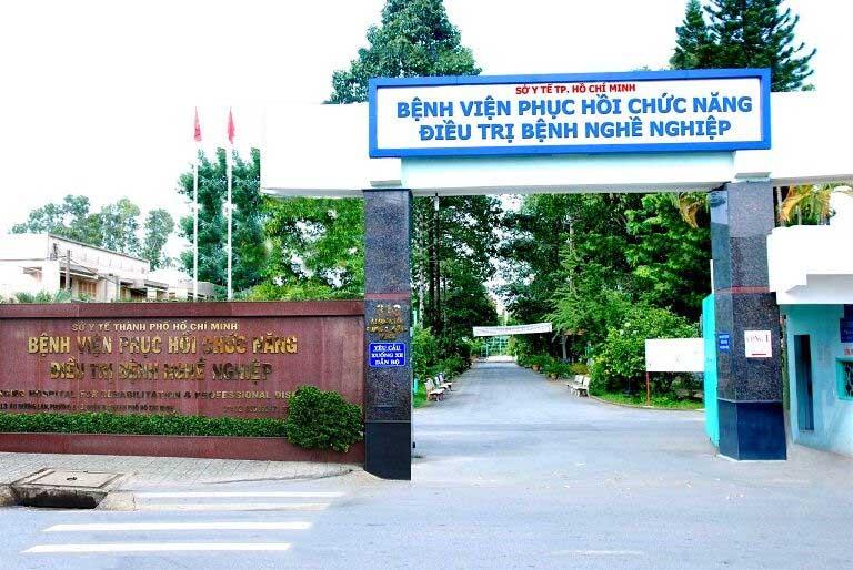 Bệnh viện phục hồi chức năng quận 8