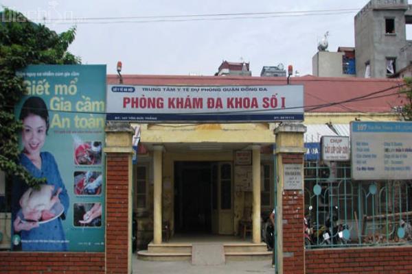 Phòng khám 107 Tôn Đức Thắng – Hà Nội