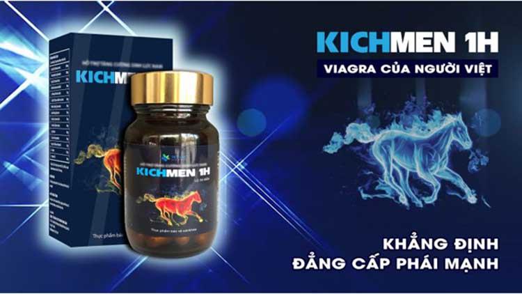 thuốc chống xuất tinh sớm Kichmen 1h