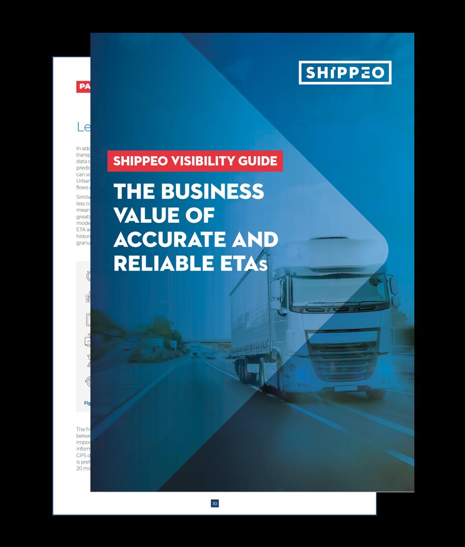 Shippeo visibility guide - Calcul d'ETA