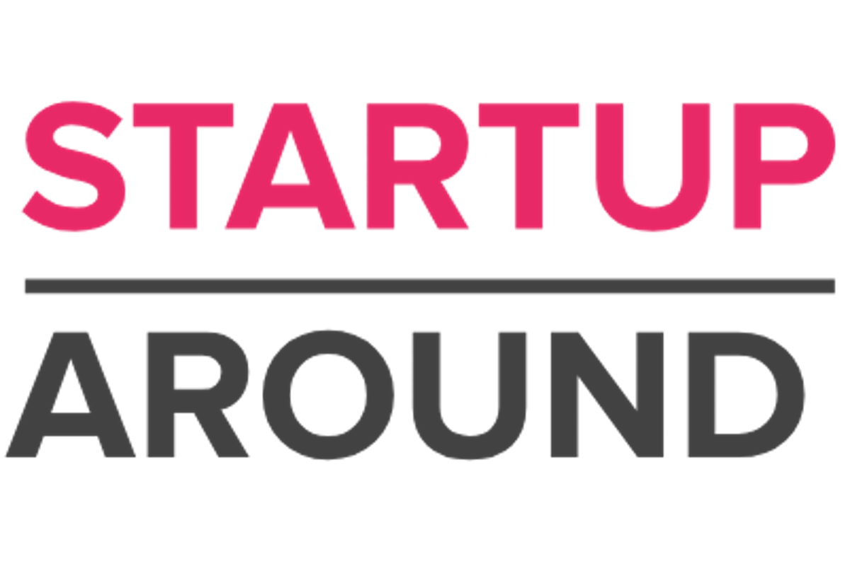 Start up around logo