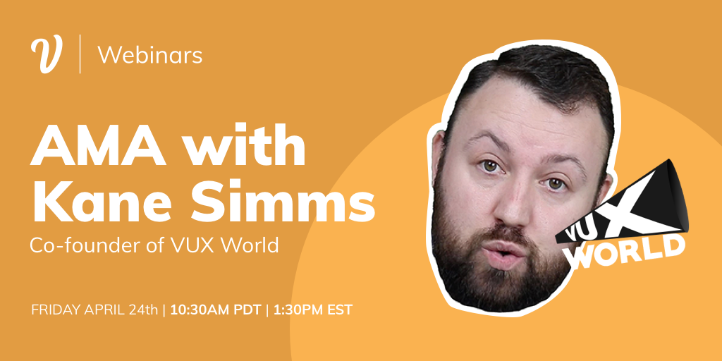 AMA with Kane Simms, Co-founder of VUX World