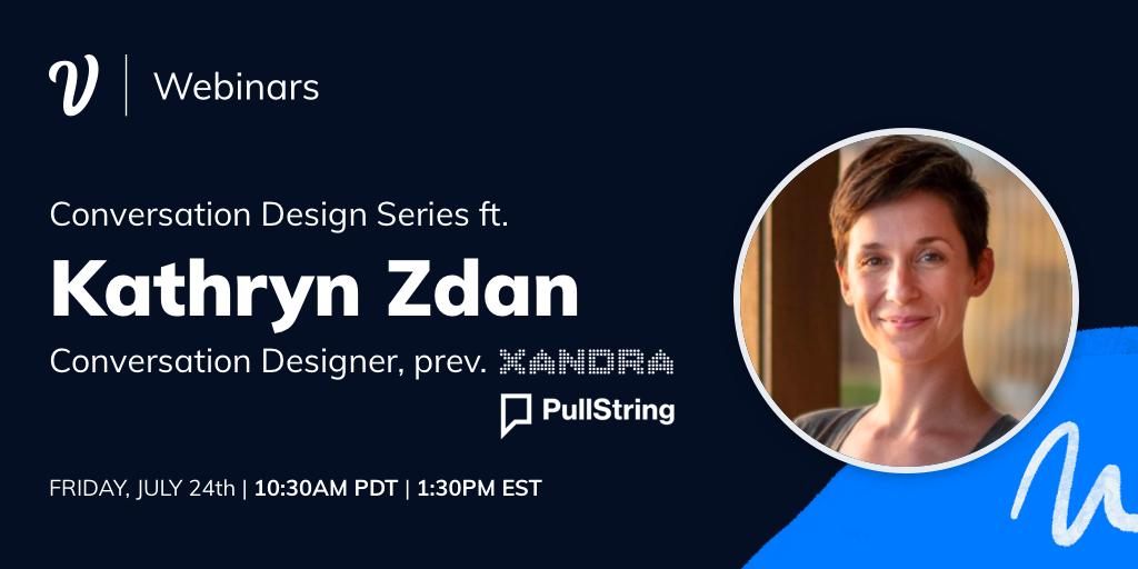 Conversation Design Series: Kathryn Zdan