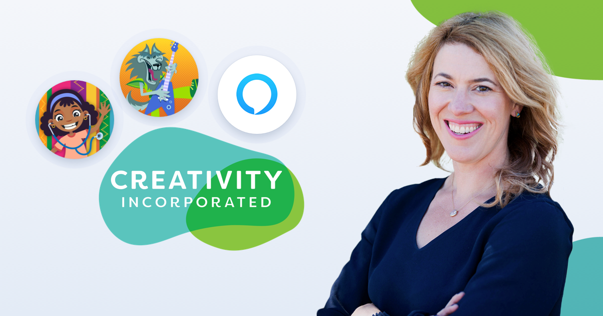 How Caitlin Gutekunst from Creativity, Inc. built 2 skills using Alexa's latest functionality in 3 weeks on Voiceflow