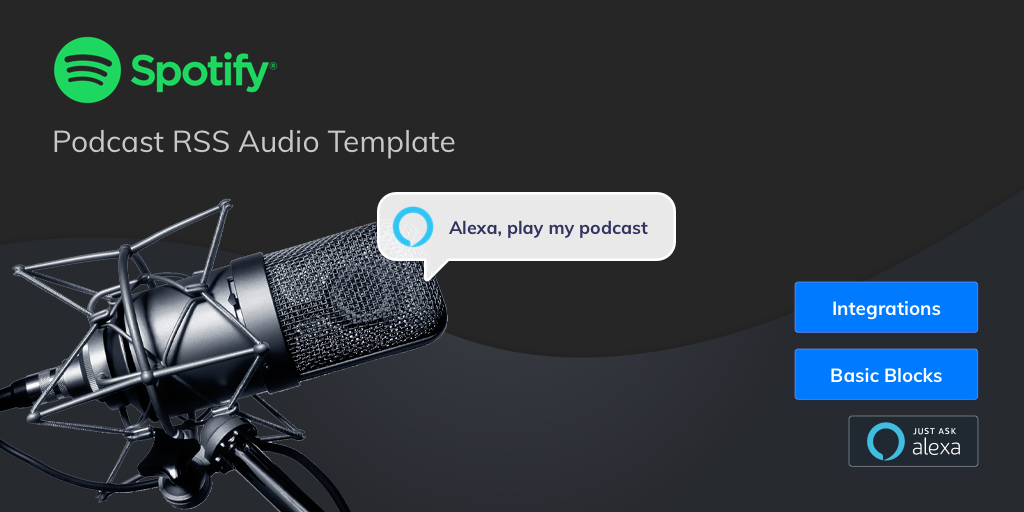 How to build a podcast Alexa Skill with voice and RSS
