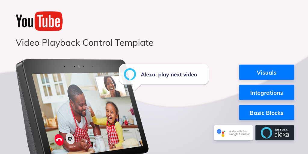 How to build a voice-powered video playback app