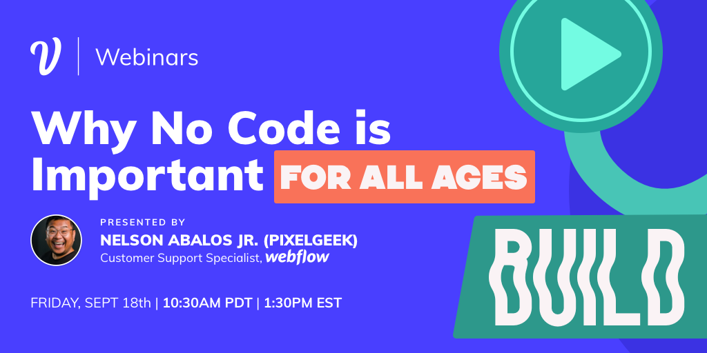 Why No Code is Important for All Ages ft. Nelson Abalos Jr.