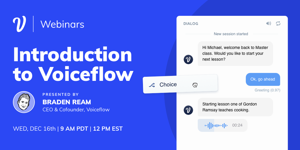 Introduction to Voiceflow