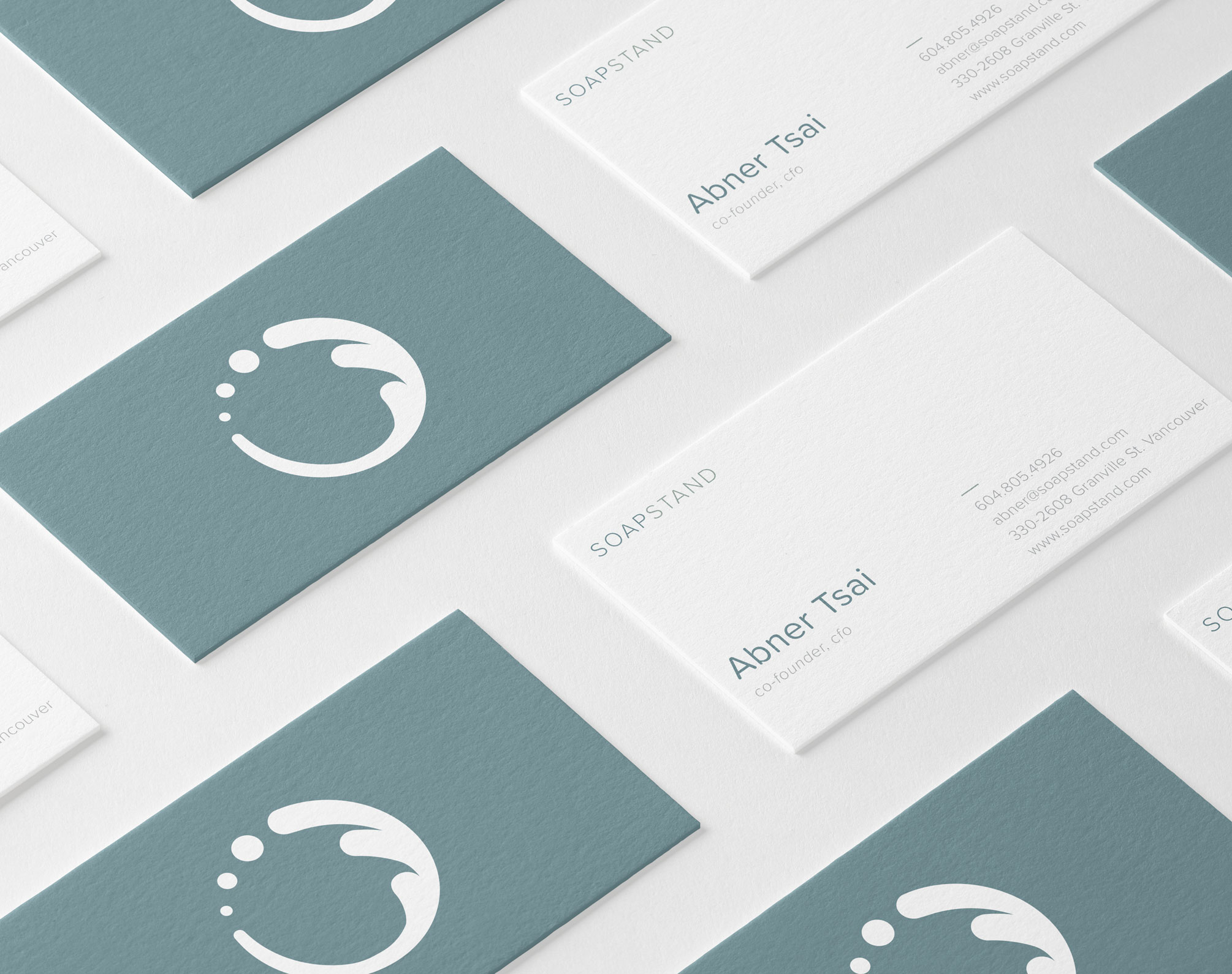 Soapstand Business Cards