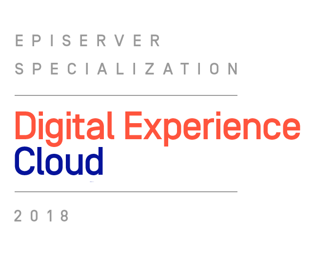 Episerver Specialization Digital Experience Cloud