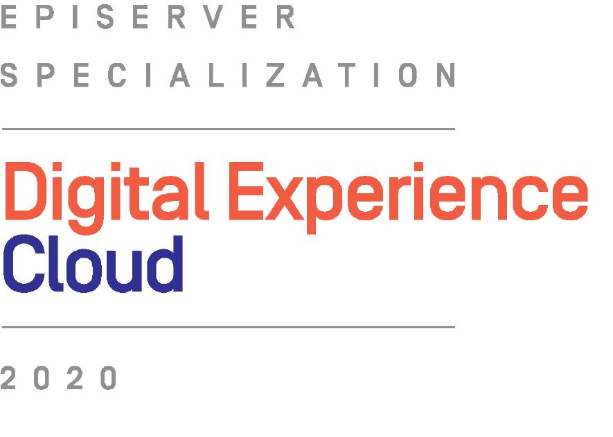 Episerver Specialization Digital Experience Cloud