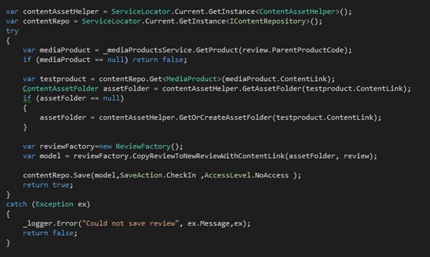 Screen grab: modifying the custom pane in Episerver