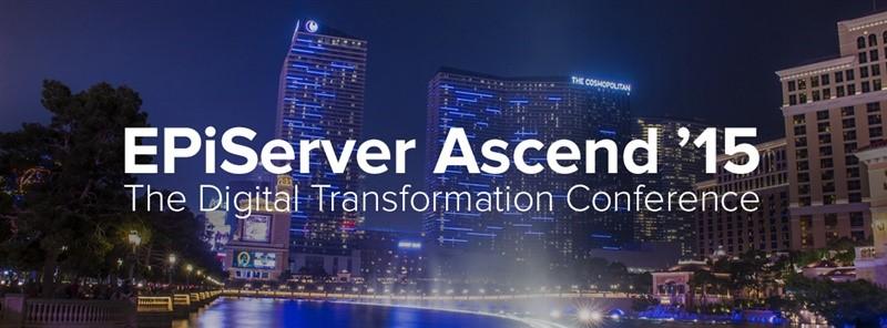 Episerver Ascend 2015: The Digital Transformation Conference