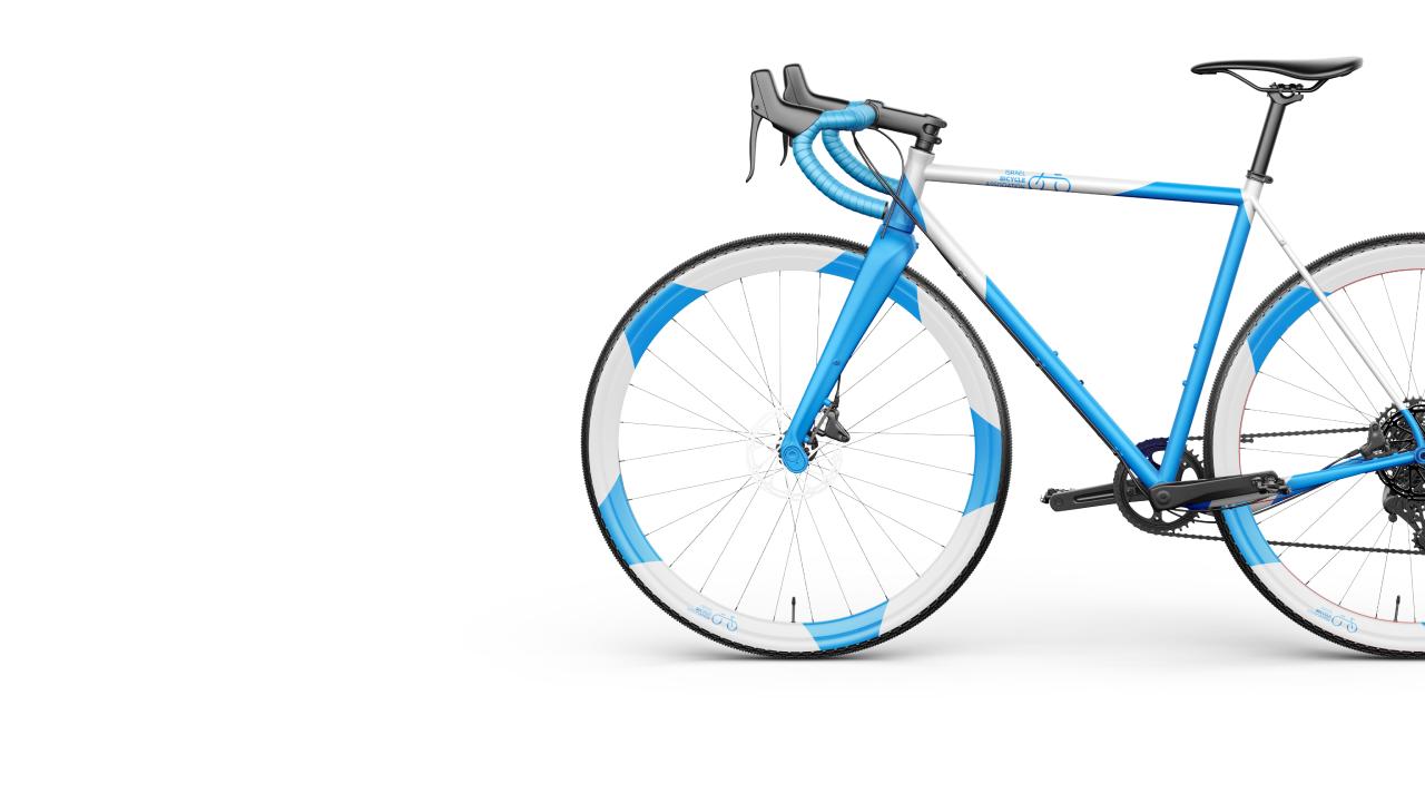 bycicle mockup