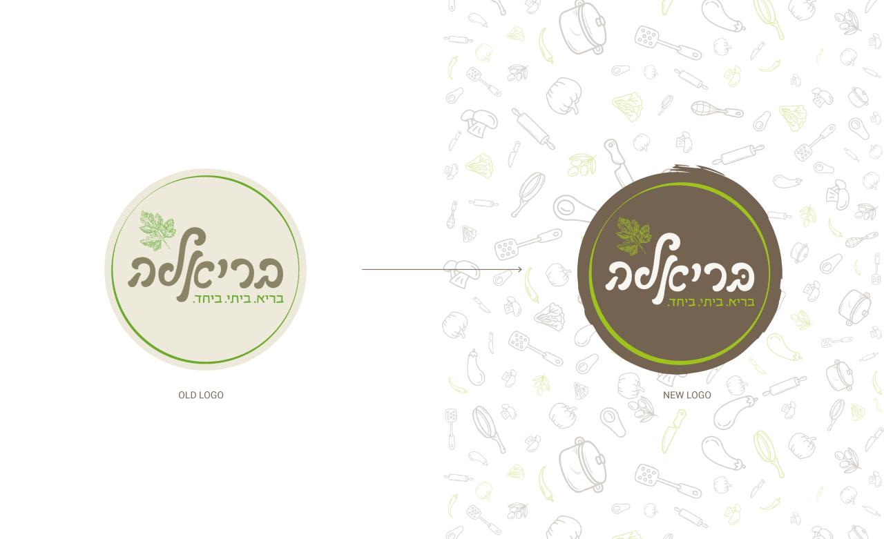 old logo & new logo