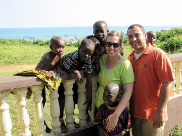 Matta and Laura Rizkallah in Ghana