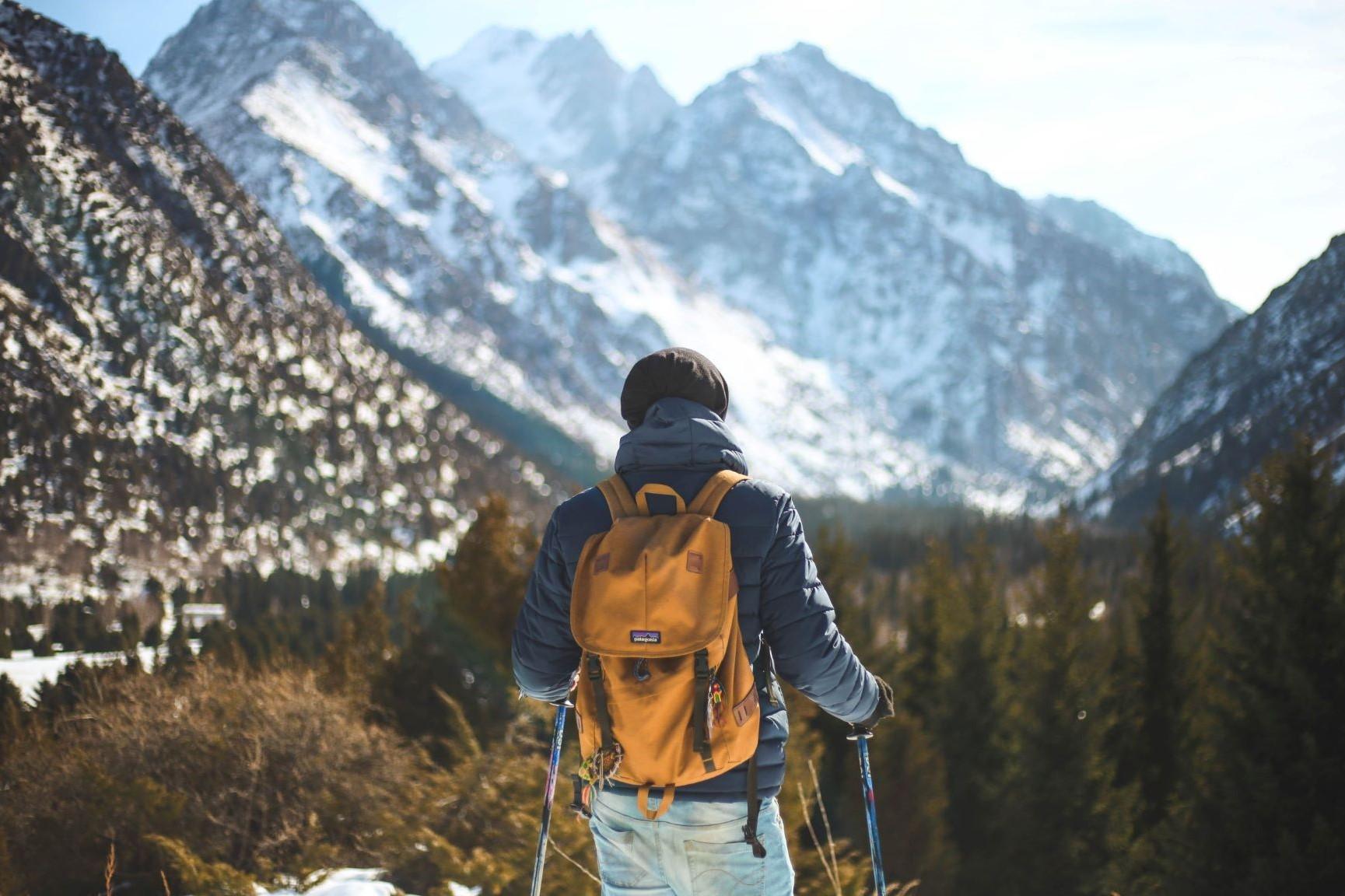 person tur fjell