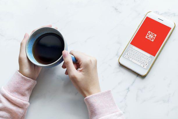app telefon kaffe