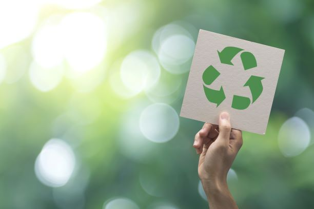 recycling signs and sustainability