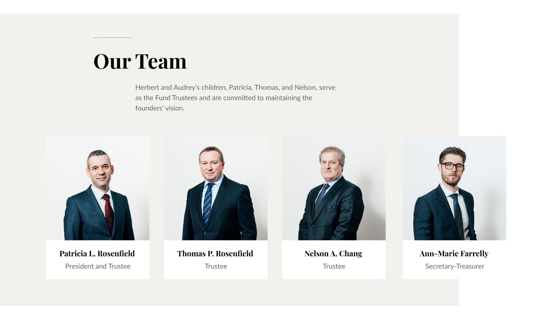 Our Team Web UI