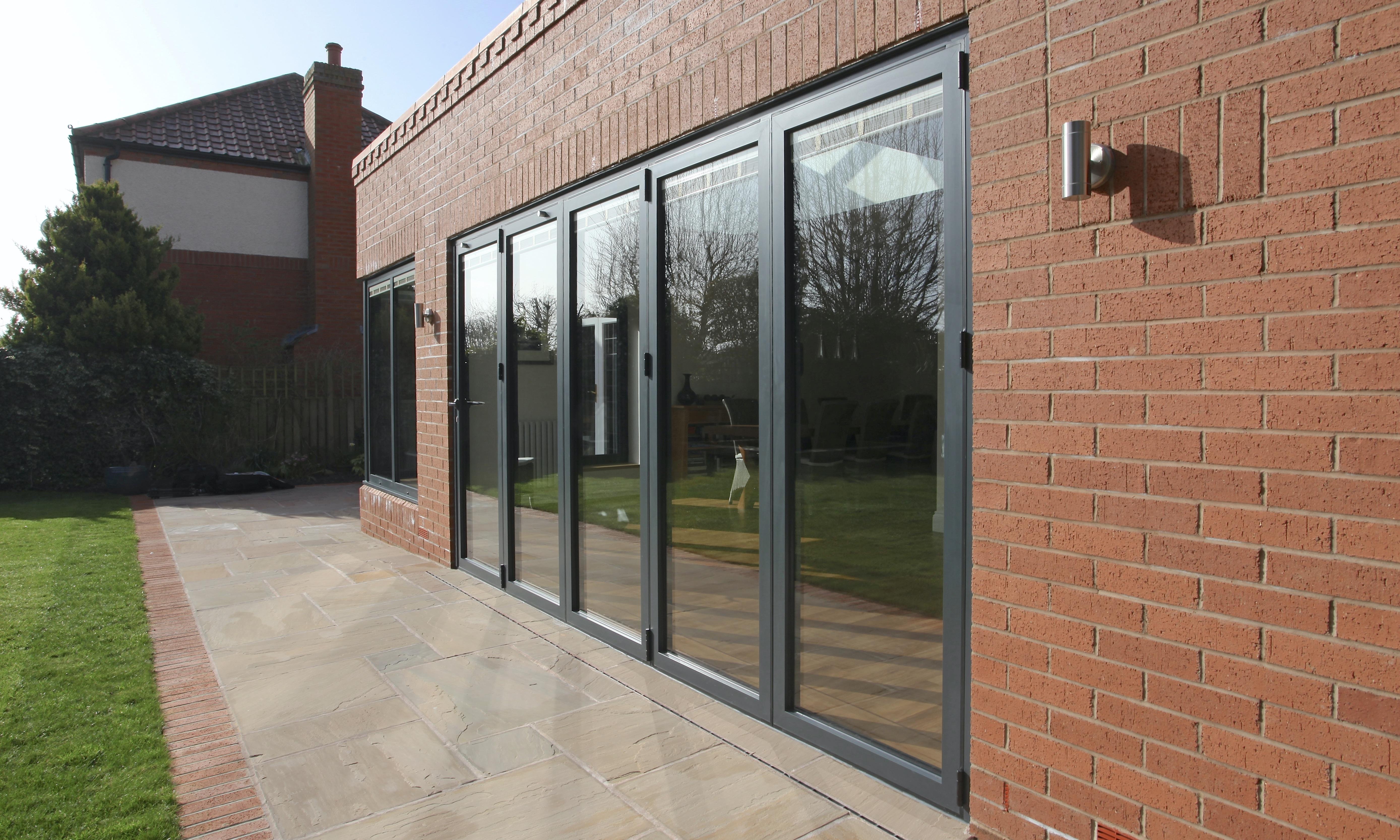 bi-folding doors glass inc.