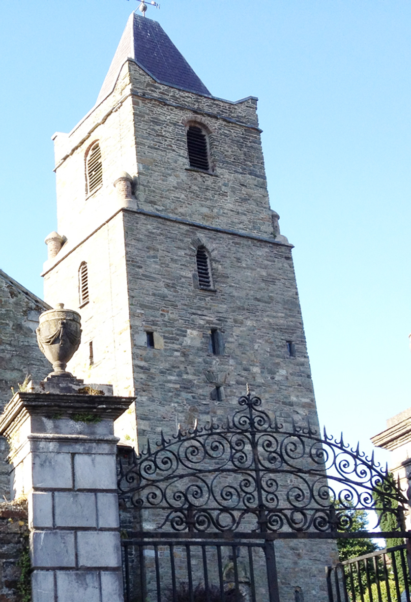 St Multose church in Kinsale during an Essential Ireland guided tour of the Wild Atlantic Tour