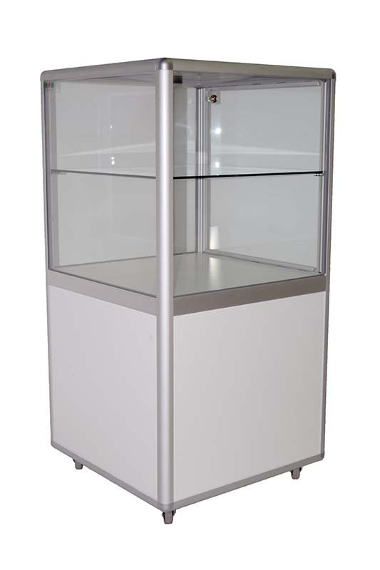 Cube display cabinet