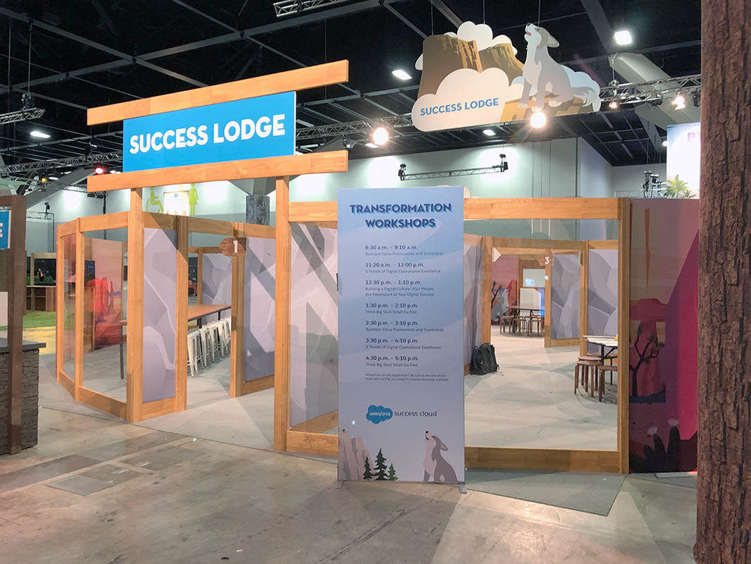 Success Lodge at Salesforce World Tour 2018 in Sydney