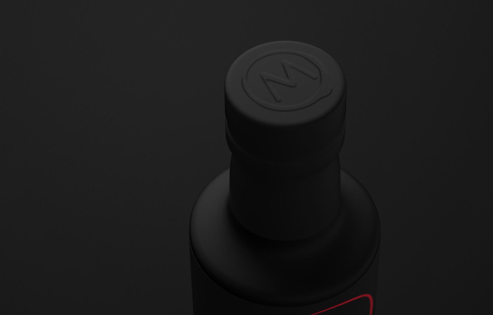 Logo on the bottle