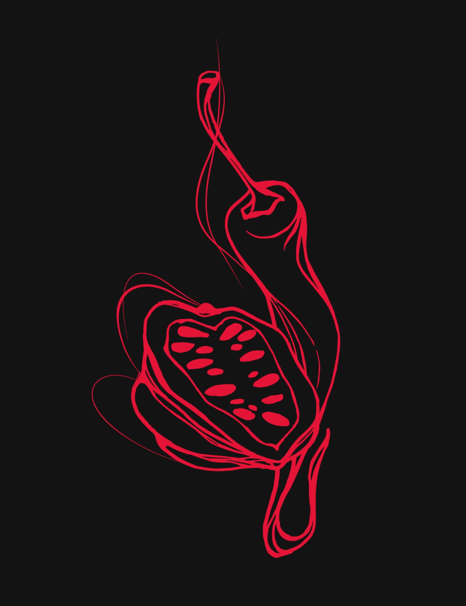 illustration red chili