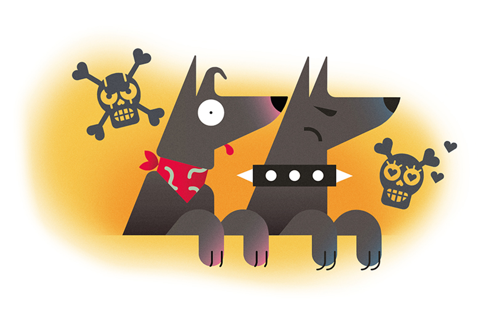 illustration dog