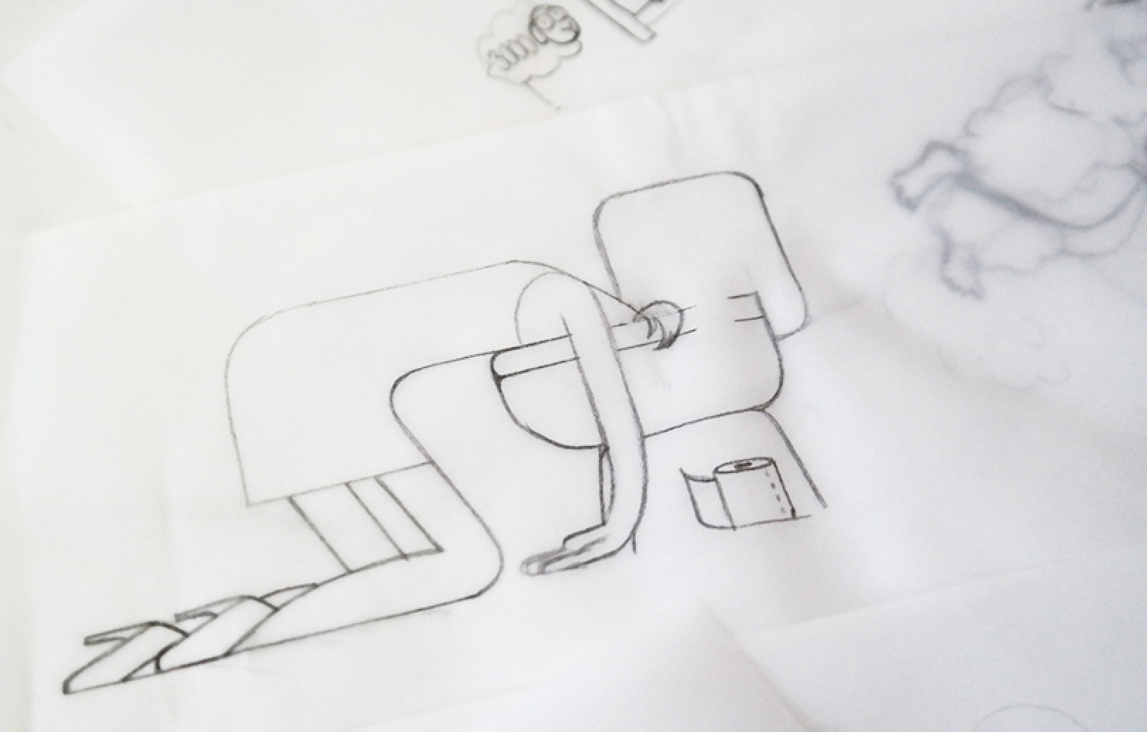 illustration hangover