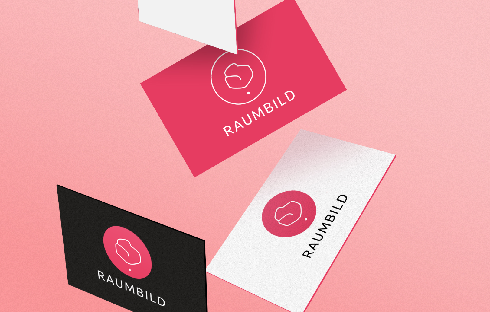 Logo on business cards