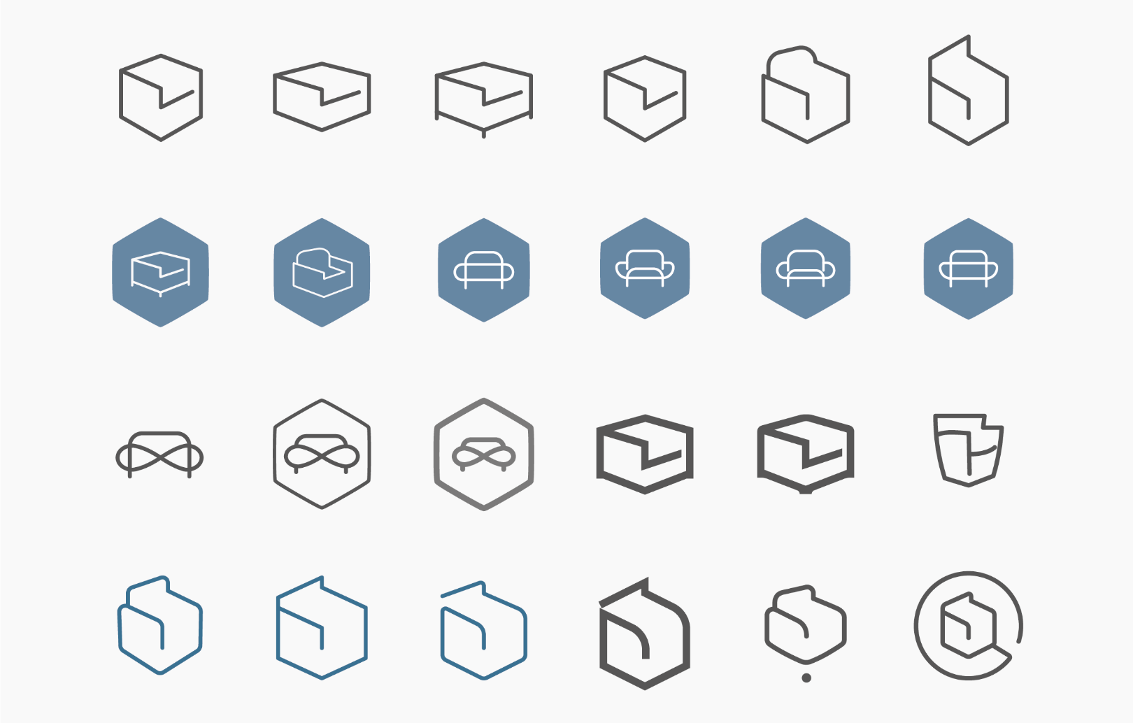 Logo variations One