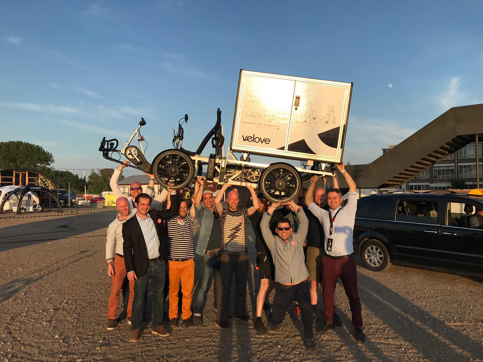 Electric Cargo bike for last mile delivery - The team that made it happen