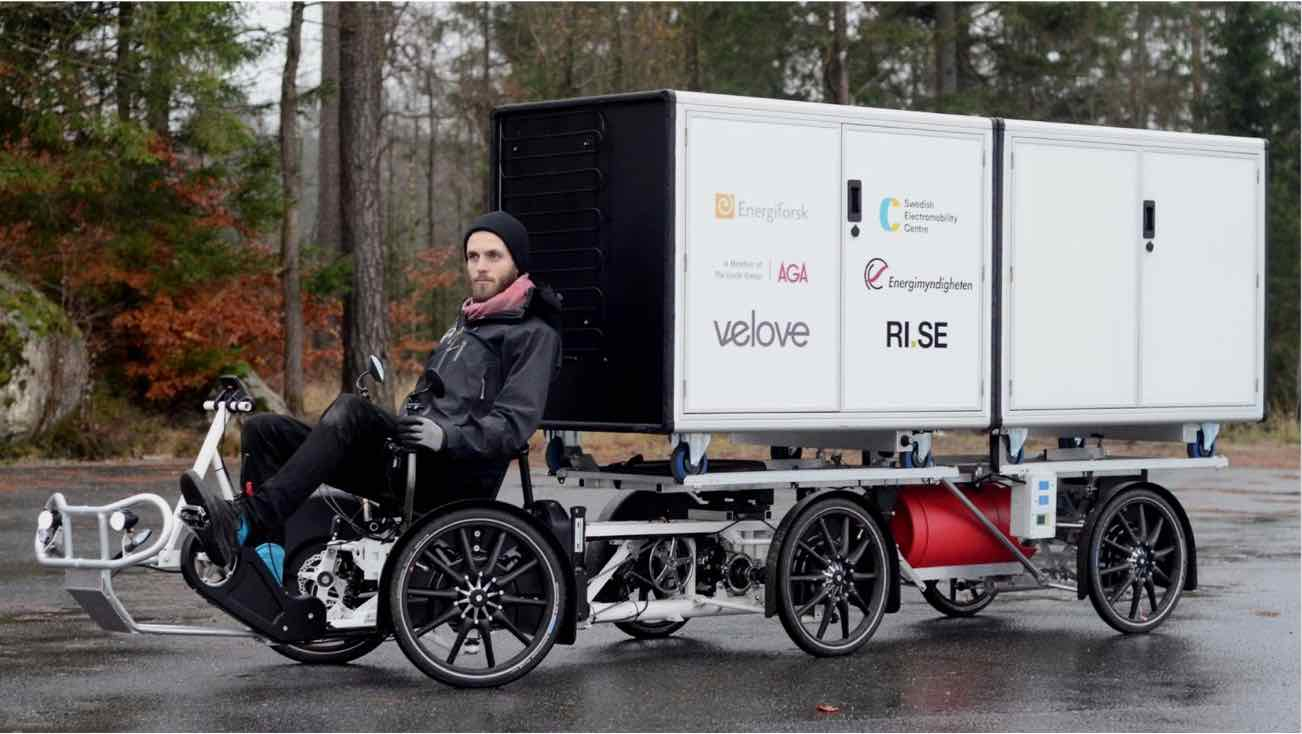 Electric Cargo bike for last mile delivery - A last mile solution
